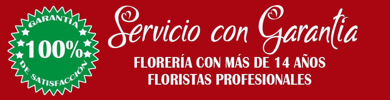 ARREGLOS FLORALES CON GARANTIA
